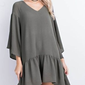 BRAND NEW Umgee Shift Dress...Taupe